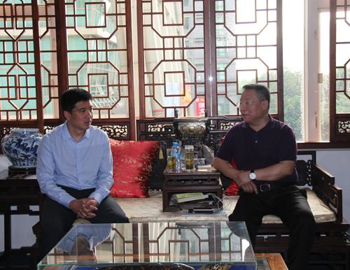 河北省唐山市领导前来深安访问