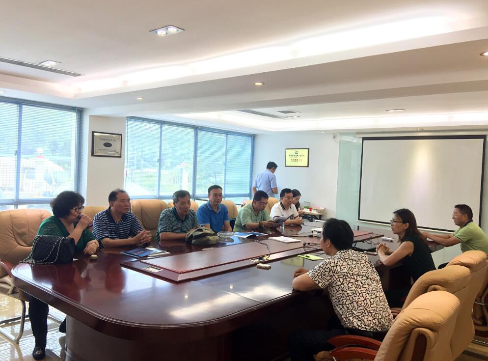 深安协组织会员企业参观副会长单位福义乐