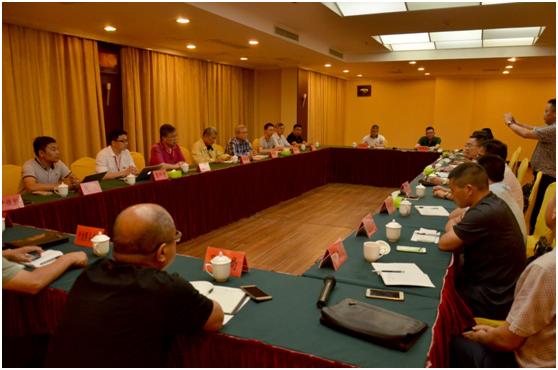 中新动力产业联盟与光泽县开展经贸项目对接